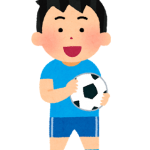 サッカー少年イラスト