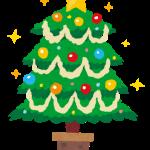 クリスマスツリーイラスト