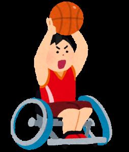 車いすバスケットボール体験講習会 @ 岩国市総合体育館