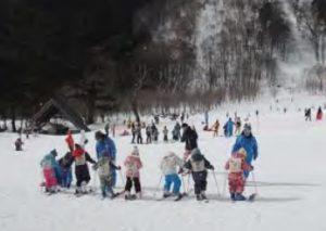 岩国市民スキー教室 @ めがひらスキー場(廿日市市吉和)
